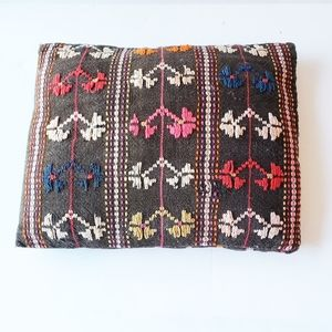 Other - 3/$15 BoHo Embroidered Brown Pillow